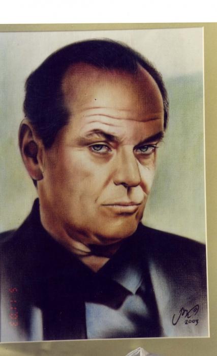 Jack Nicholson por vovaroz_23